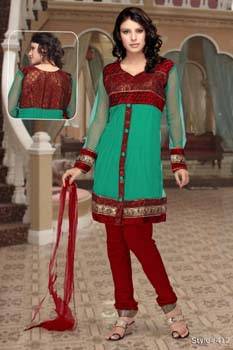 Anarkali Suits ONline, Latest Masakali Designer Dress Online