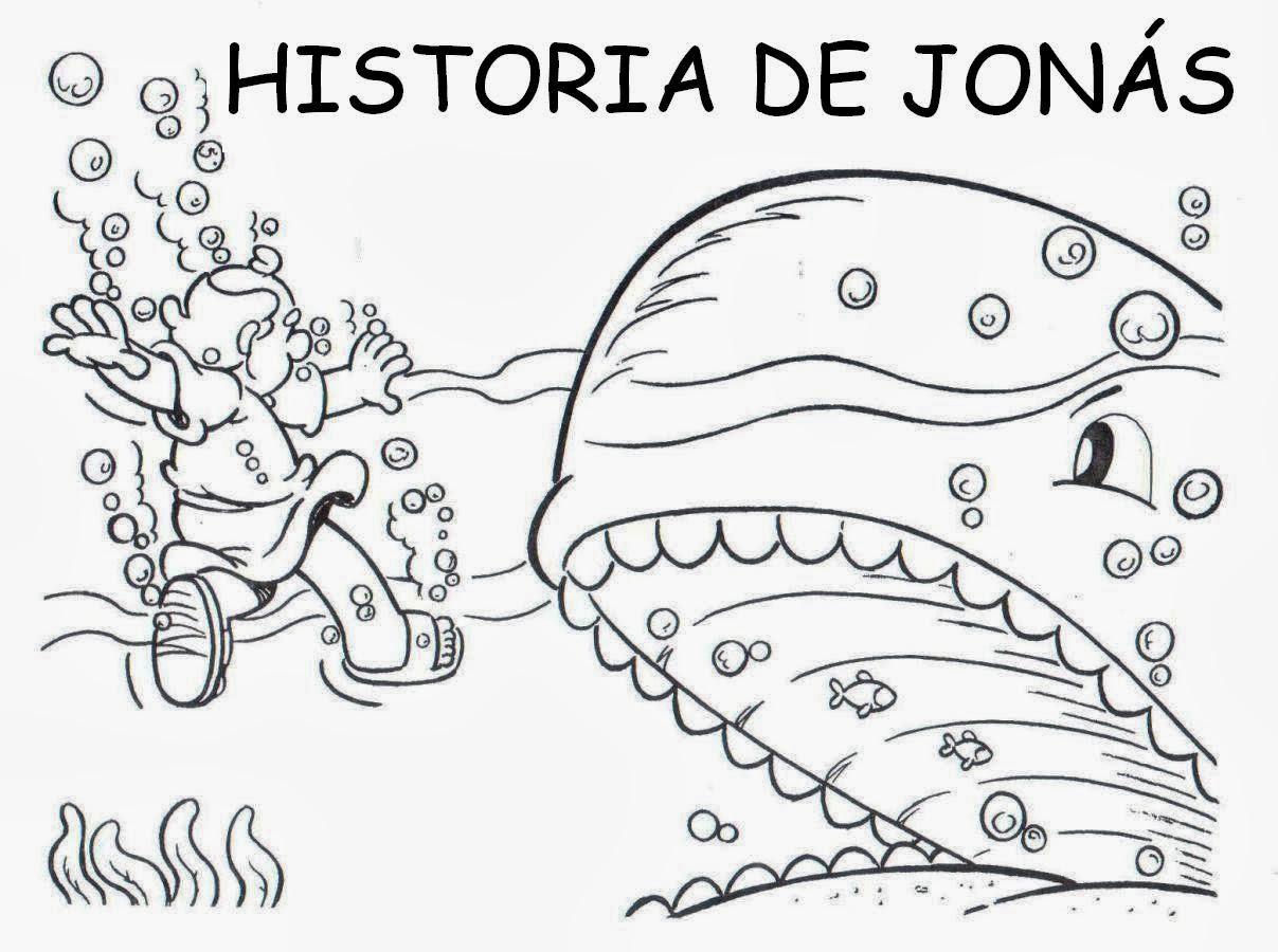 Imagenes Cristianas Para Colorear: Dibujos Para Colorear De Jonas y ...