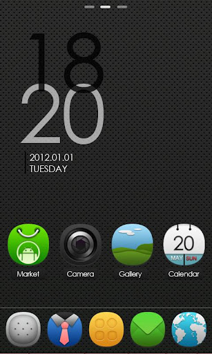 Download Free: Purity GO launcherEX Theme 1.3 apk (v1.3) Android App