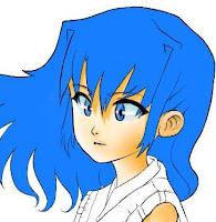 Ilustración de una miko