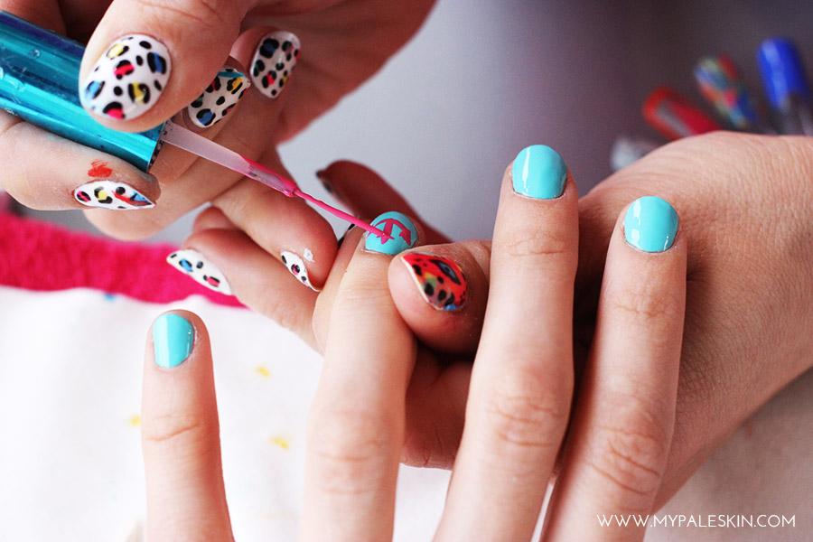 Bourjois Paris Nail art Manicure Nail Polish Swatch