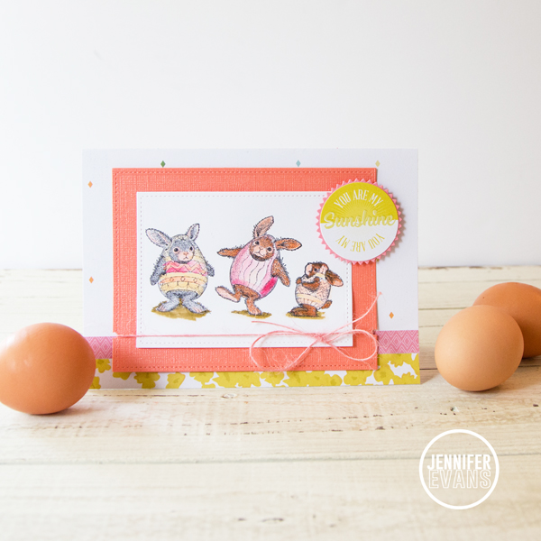 You are My Sunshine @createoften @pinkpaislee @bazzillbasics #easter #card #diy #pinkpaislee #ppCitrusBliss #bazzillbasics