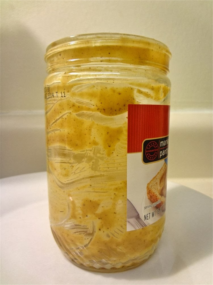 Gotta clean this dirty peanut butter jar.