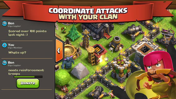 Clash of Clans Download Latest Version 7.200.19 Apk