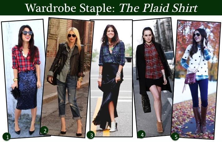 plaid shirts, street style