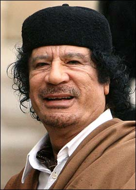 JAPANESE EARTHQUAKE GOOD FOR GADDAFI, GIVES HIM A BREAK!
