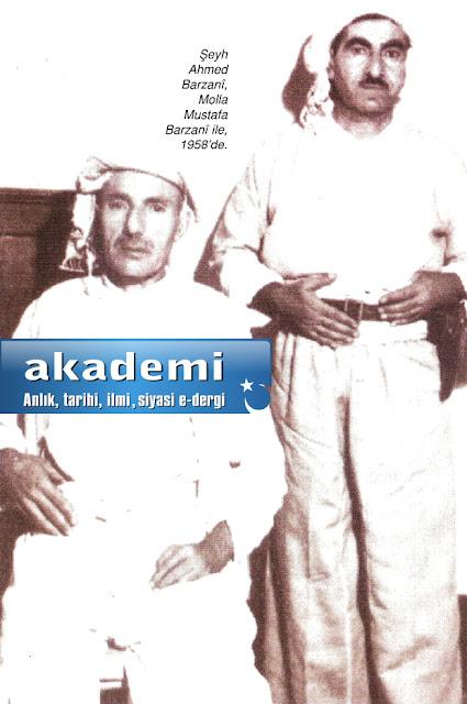 Ahmed Barzanî, Molla Mustafa Barzanî ile, 1958'de.