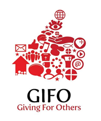 GIFO logo (Giving for others).