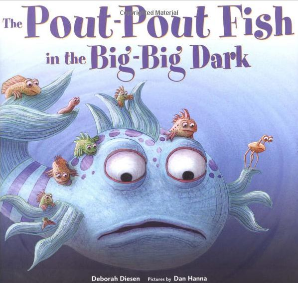 Madness by mattie pout pout fish in the big big dark for The pout pout fish book