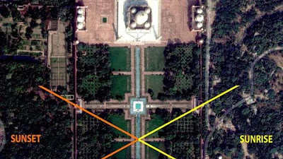 Tirai Misterius di Taj Mahal