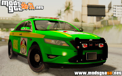 SA - Ford Taurus Iraq Police
