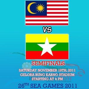 malaysia vs myanmar sea games 2011