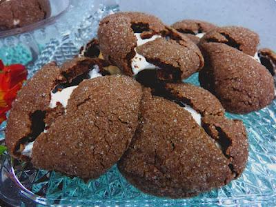 Cookie com marshmallow