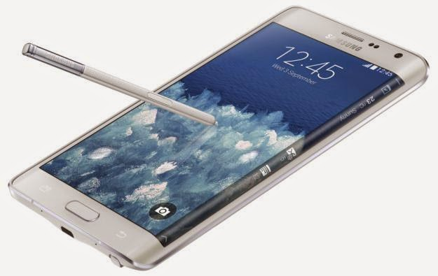 Samsung Unveiled Galaxy Note Edge with Curved Display