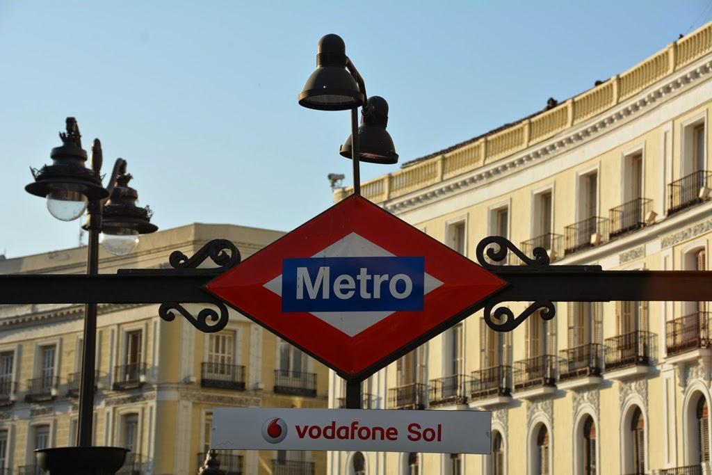 Puerta del Sol Madrid Metro