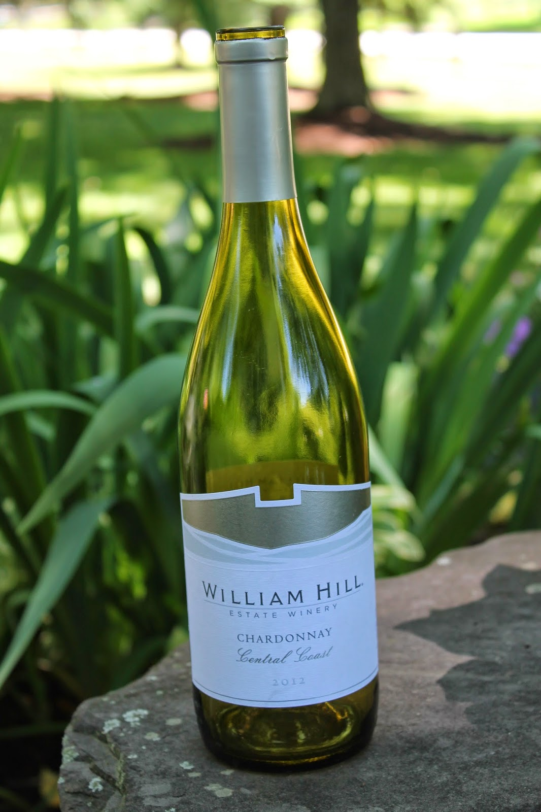 bottle of William Hill Coastal Collection Chardonnay