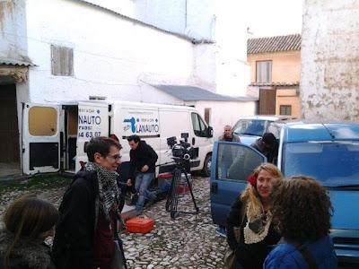 El Aprovechamiento Industrial de los Cadaveres, Rodaje en el Estudio de Miguel Medina, Villanueva de los Infantes, Campo de Montiel, Ciudad Real, Castilla la Mancha, España