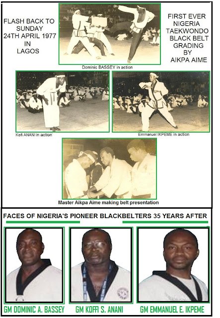 COMMEMORATION of NIGERIAN BLACKBELT GENERATION'S 35TH ANNIVERSARY 1977 - 2012