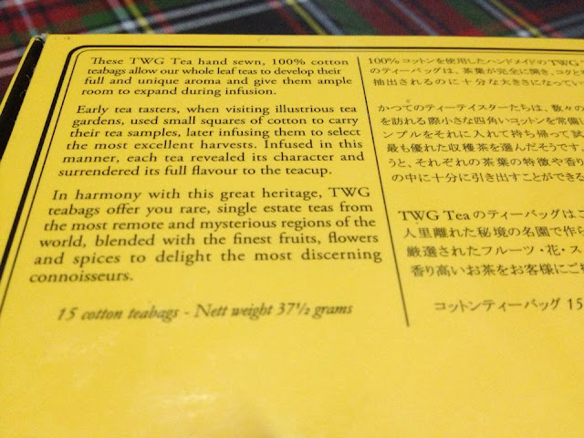 Love at First Cup: TWG Silver Moon Tea