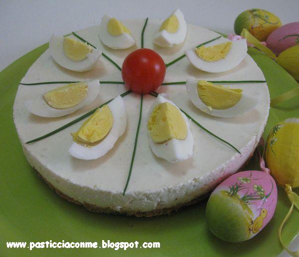 cheese-cake di pasquetta