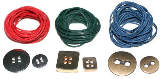 Material Untuk Membuat Gelang Kancing