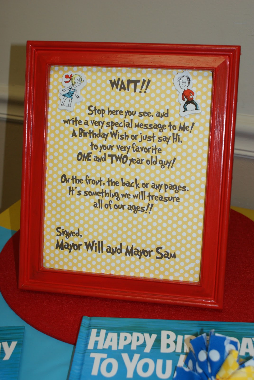 Mommy Made Thing 1 and Thing 2 Have a Party!! ~ 013005_Birthday Party Guest Ideas