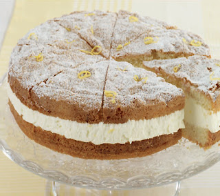German Cream Cheese Torte