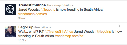Jared Woods Was A Trending Topic