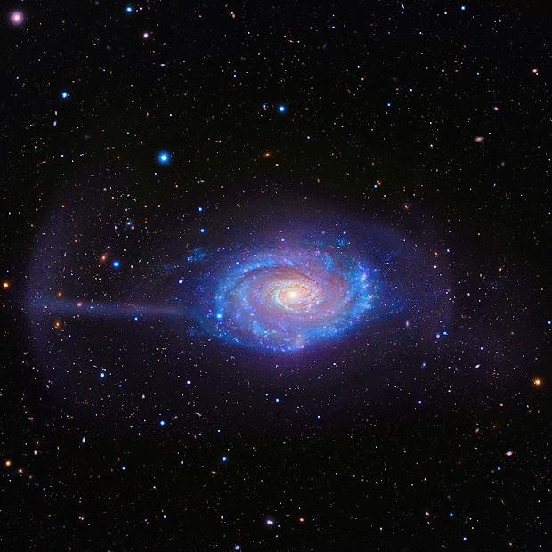 Ringed Spiral Galaxy NGC 4651