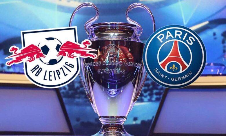 موعد مباراة باريس سان جيرمان ضد لايبزيج فى دوري الاسباني - اليوم