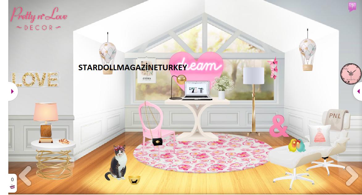 Pretty n 39 love dekor yenilendi stardoll magazine turkey for Dekor turkey