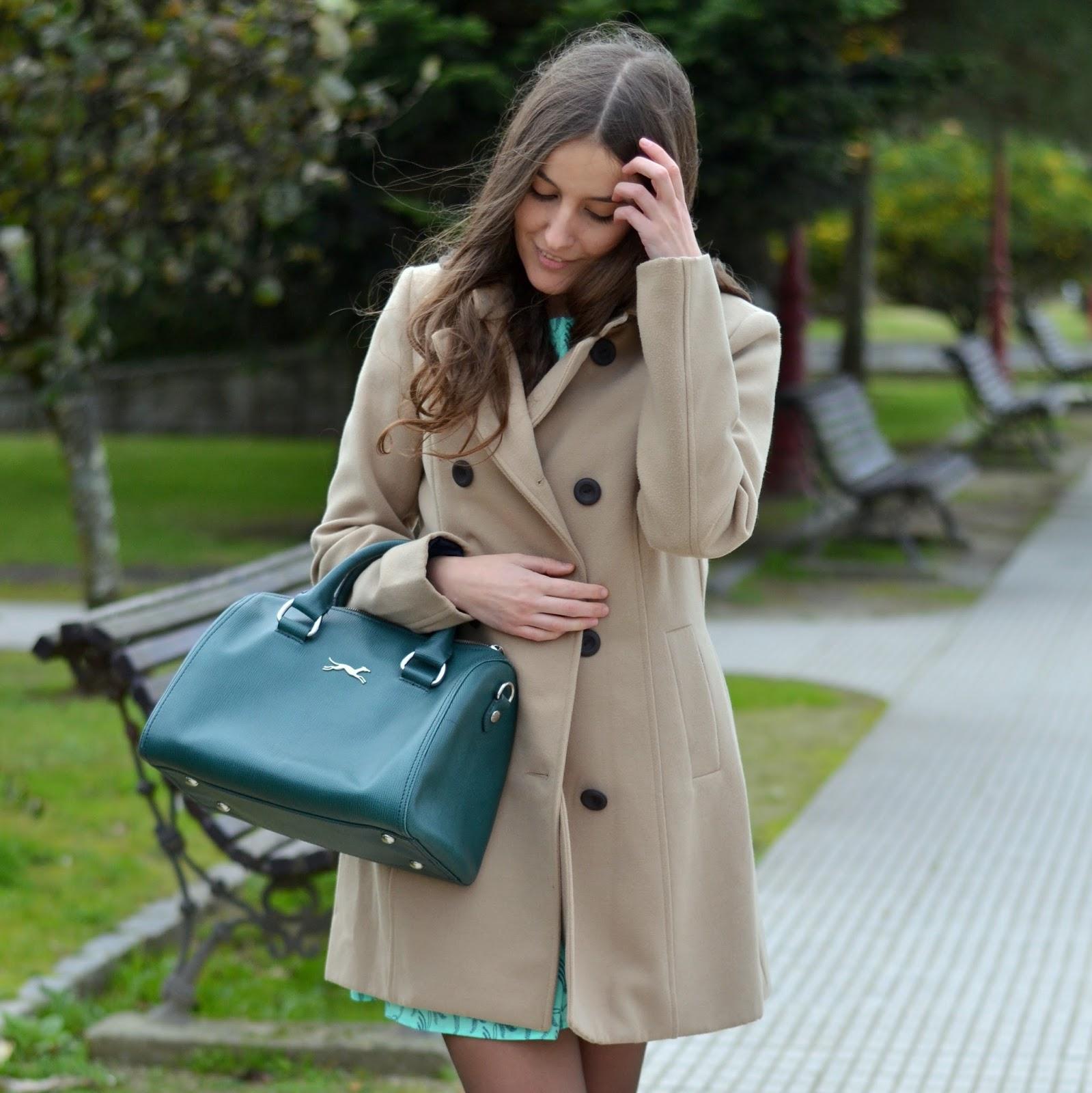 green bag bimba&lola