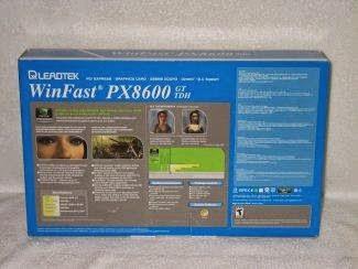 WINFAST PX8600 GT TDH DRIVER