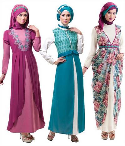 Baju Muslim Gamis Gaul