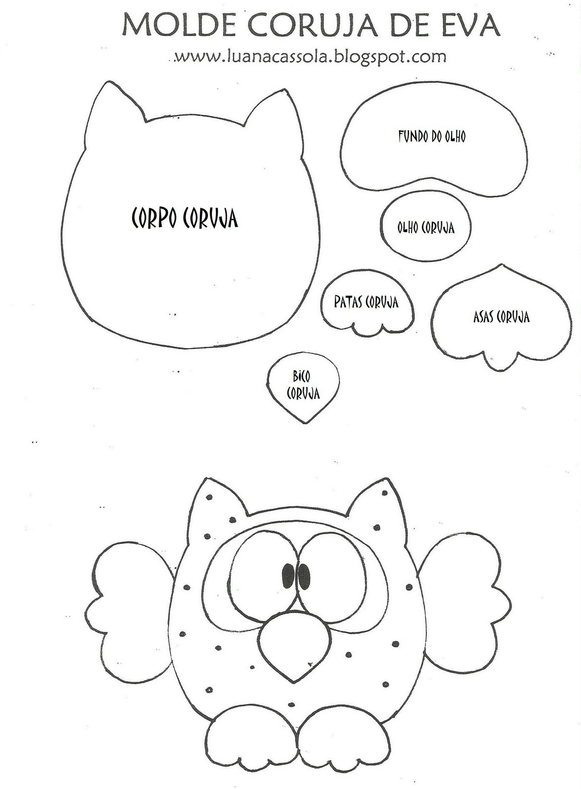 Owl templates on pinterest owl patterns owl and owl for Owl templates for sewing
