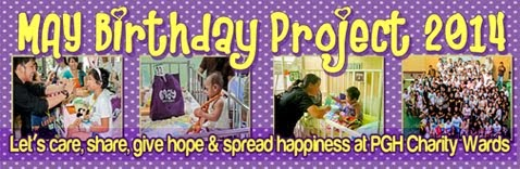 8th Annual Gift-giving at Philippine General Hospital on May 17