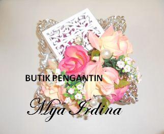 Butik Pengantin Mya Irdina: hantaran pink peach ~ dila, pasir putih