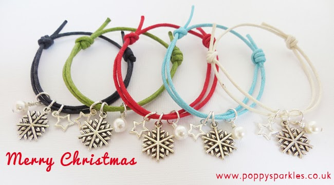 Christmas Friendship bracelets - Great stocking filler or Secret Santa gift