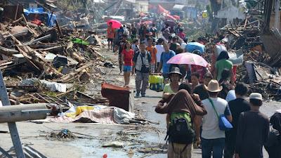 OMS: TIFON HAIYAN FUE TAN DEVASTADOR COMO EL SISMO DE HAITI Y TSUNAMI DE 2004