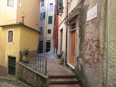 Entrance to Jewish Ghetto, Lerici, Italy