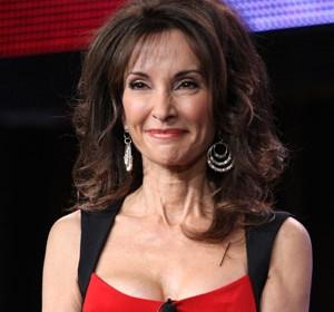 Middle Aged Celebrity Red Carpet Show Veteran Susan Lucci Susan Lucci