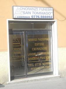 """ONORANZE FUNEBRI """"San Tommaso"""" di Piccolino Pierluigi"""