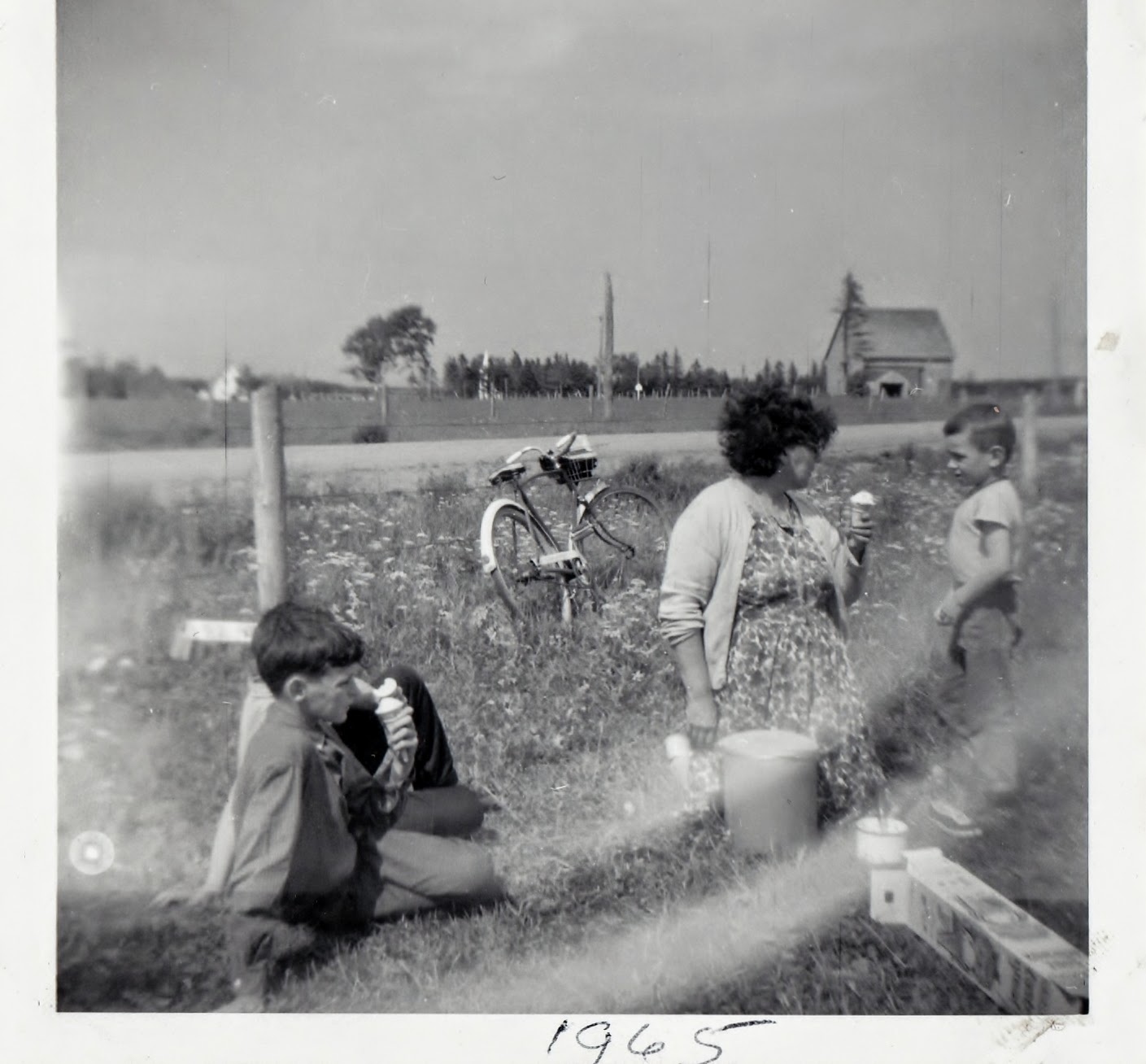 Alma School Picnic - Summer 1965