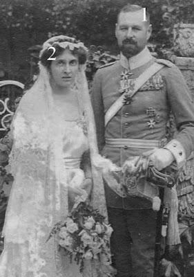 comte Wolfgang zu Castell-Castell et de la princesse Sibylle Reuss j.L.