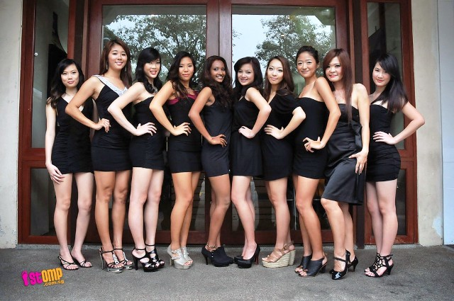 Independence Day: Miss Singapore World 2011 contestants revealed.