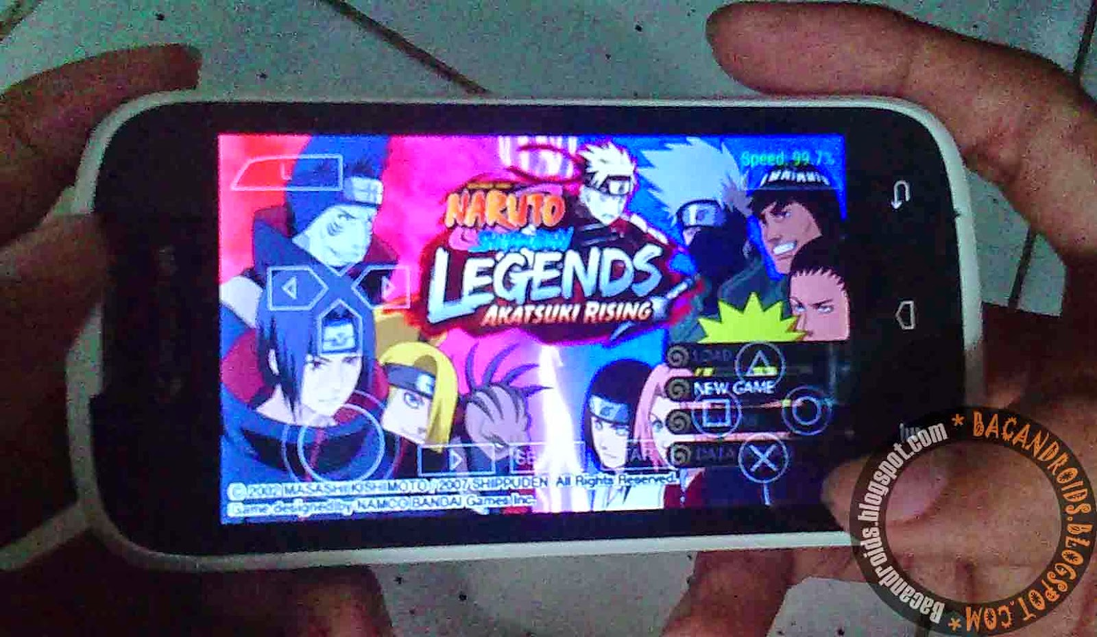 Game Naruto For PPSSPP Android