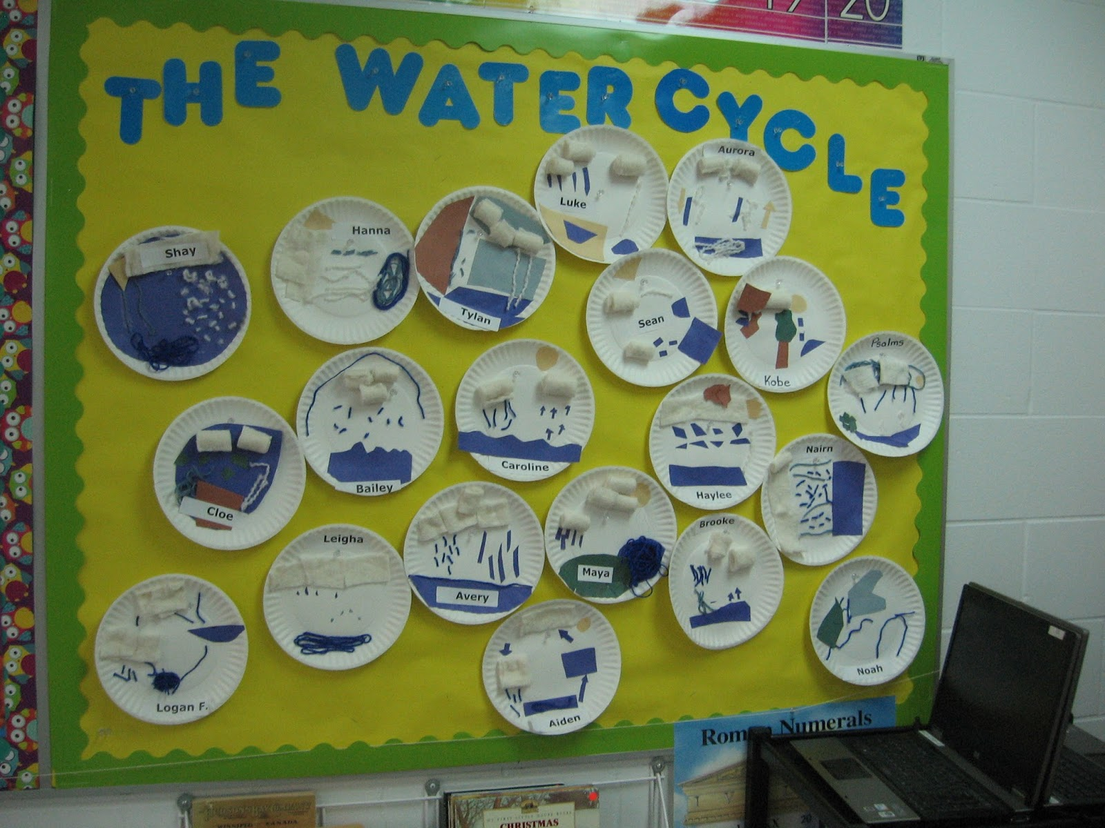 Room 21: Water Cycle Craft