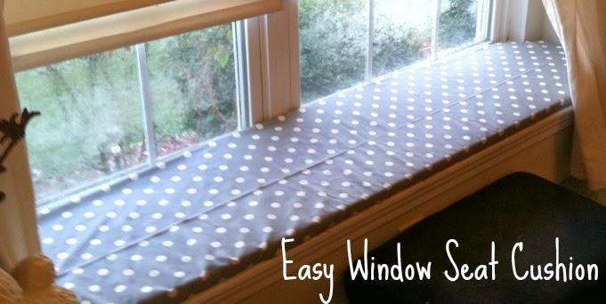 Diy Easy Window Seat Cushion