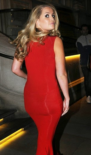 As a niece of Princess Diana, I think Lady Kitty Spencer was always so particular about detail, passionate about getting things right. So the 23-year-old certainly didn't disappoint as she headed the Give Time Us Gala at London, England on Sunday, October 19, 2014 in a shimmering red number.