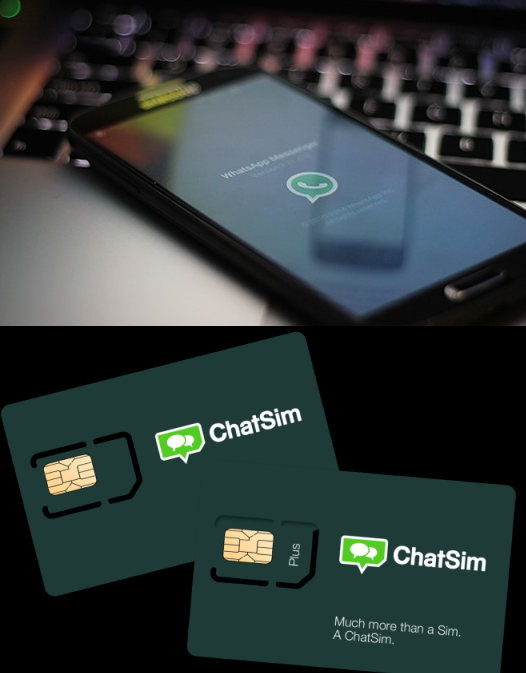 How to Use WhatsApp Without WiFi, 3G, 2G, 4G Mobile Data Plan Using ChatSim Card